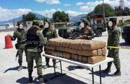 DETIENEN EN GALEANA A CHÓFER DE TRAILER QUIEN TRANSPORTABA DROGA ESCONDIDA EN DOBLE FONDO.