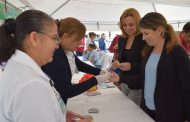 Conmemoran día mundial de la Diabetes con brigada de Prevención y Detección