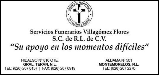 D.E.P. SRA. DOÑA MARIA GUADALUPE CANTU FARIAS(+)