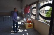 Supervisan obra de Rehabilitación del Centro Cívico