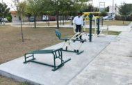 Dan rehabilitación a plaza de la Colonia Las Alamedas