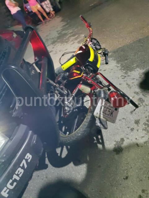 PERSECUCIÓN EN ALLENDE FUERZA CIVIL DETIENE A MOTOCICLISTA.