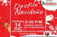 INVITAN AUTORIDADES DE HUALAHUISES A DESFILE NAVIDEÑO 2018