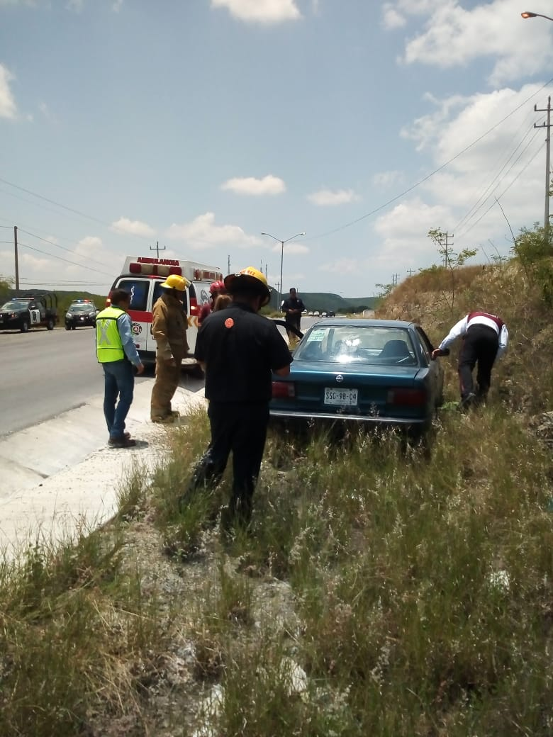 ACCIDENTE VIAL EN AVENIDA DE MONTEMORELOS.