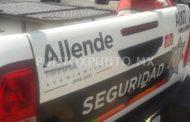 LO DETIENEN POR ROBO CON VIOLENCIA POLICIAS DE ALLENDE, ES DETENIDO Y CONSIGNADO.